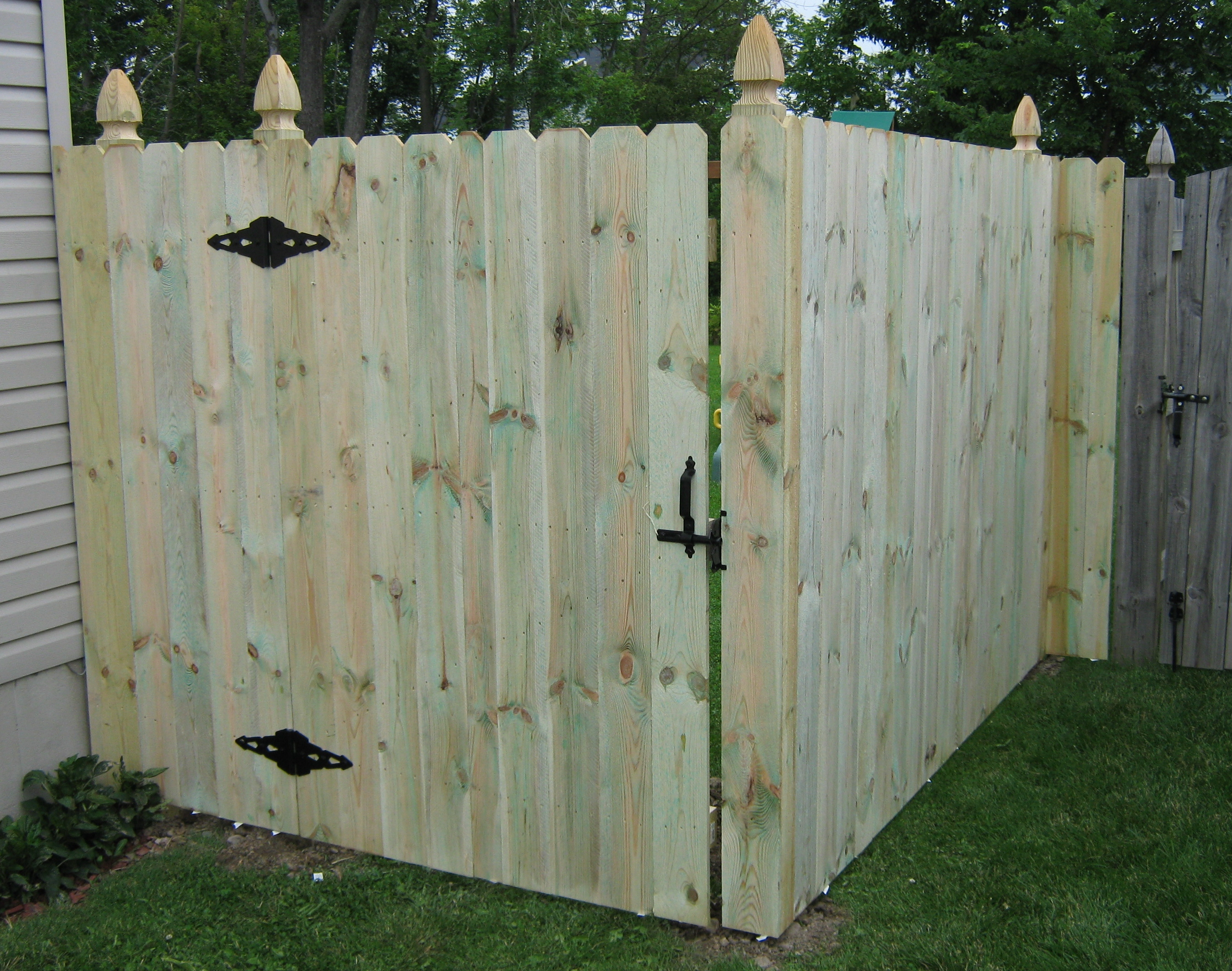 Pressure treated sadler fence and staining llc pressure treated wood baanklon Gallery