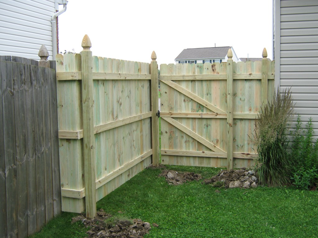 Pressure Treated Sadler Fence And Staining Llc