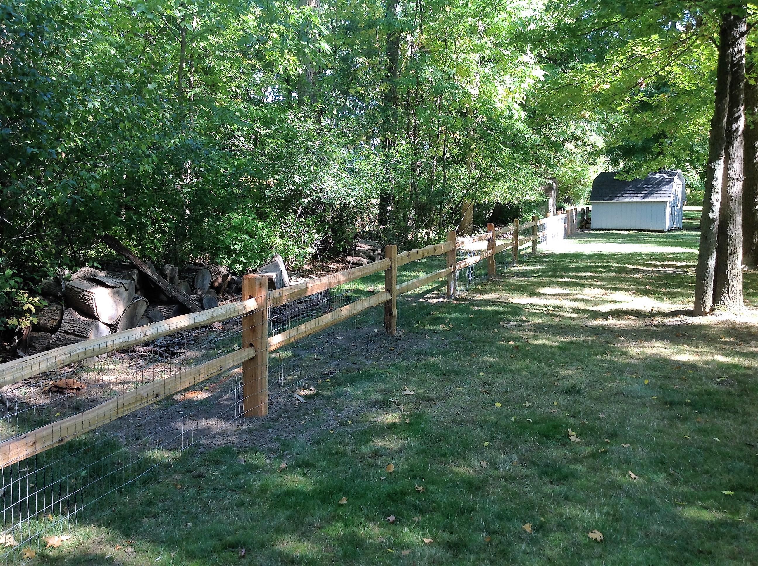 Split Rail | Sadler Fence and Staining LLC