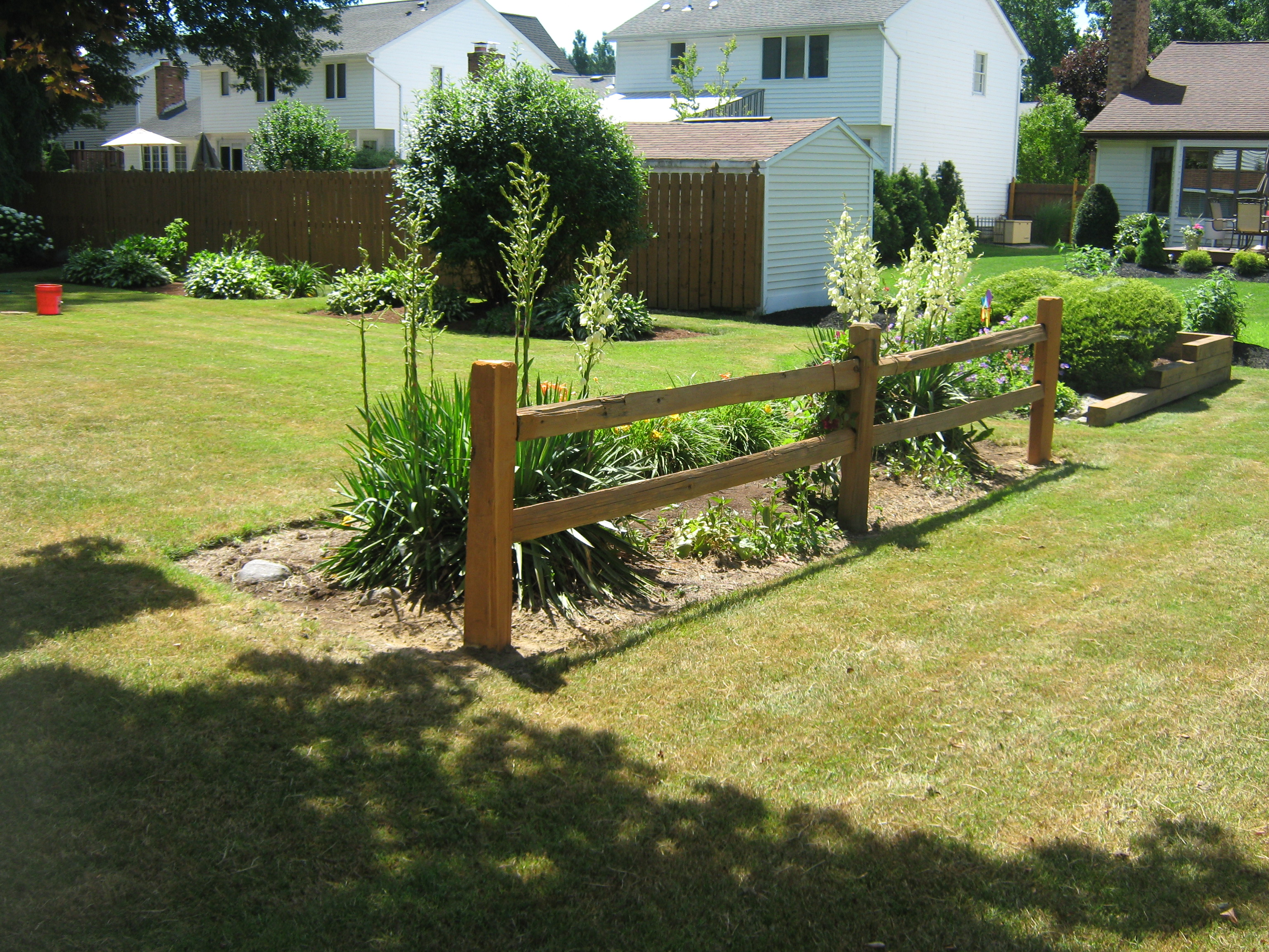 Split Rail | Sadler Fence and Staining